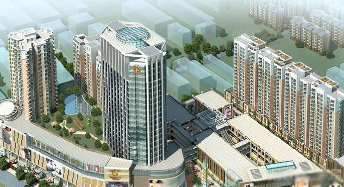 项目建筑面积为33万平方米,项目紧邻宿州火车站,新汽车站,快客站,交通